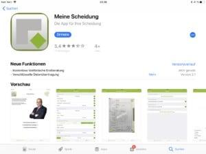 Scheidung App IOS